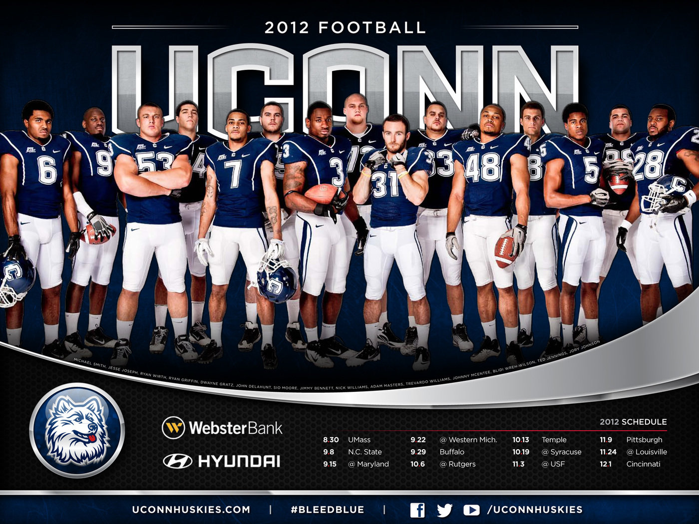 2012 13 Uconn Athletics Posters By Mike Mason At Coroflot Com