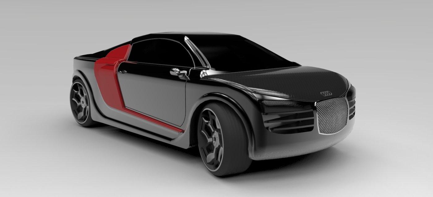 Sport Muscle Car Concept By Daniel Singer At Coroflot Com