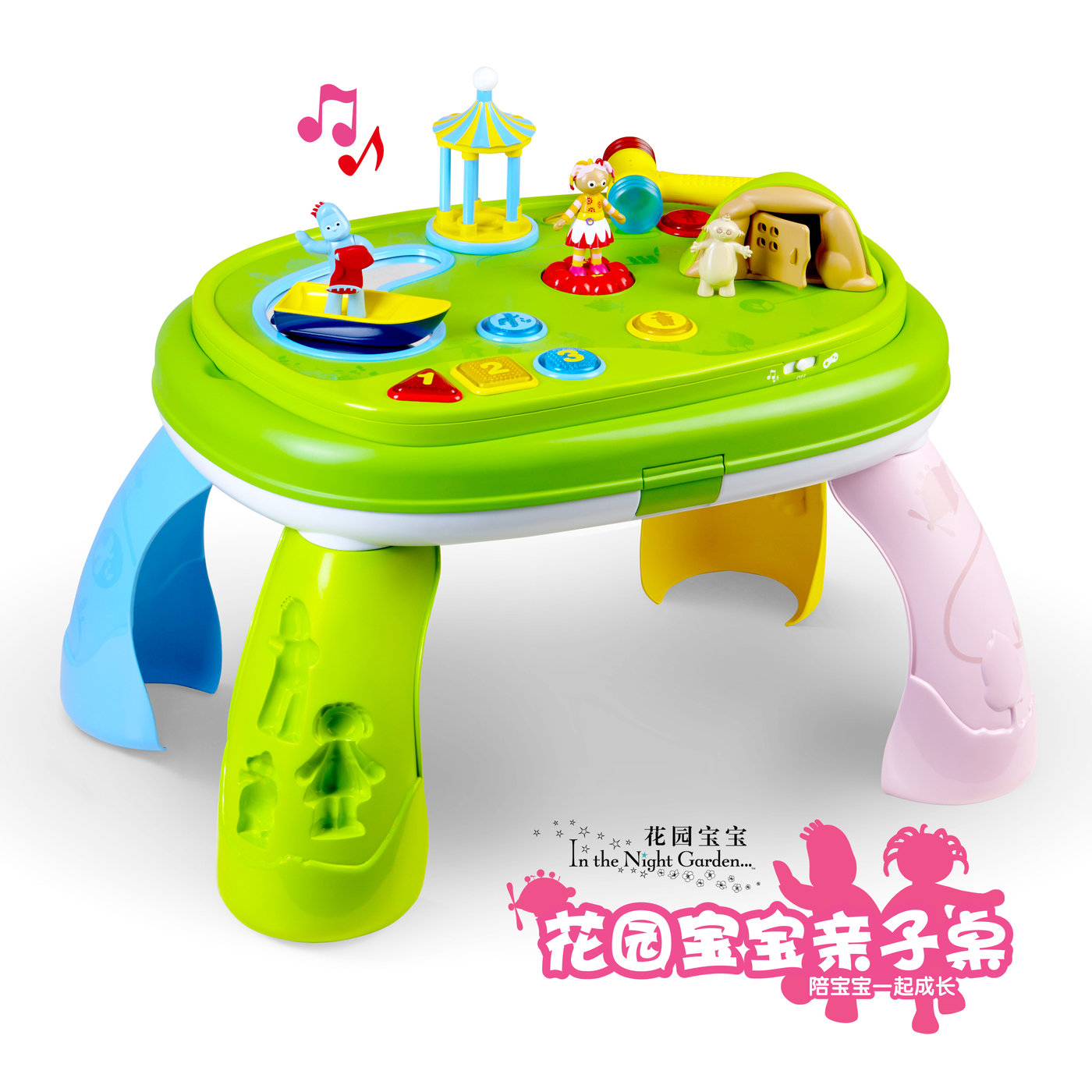 In The Night Garden Activity Table by Yuchen Pei at Coroflot.com