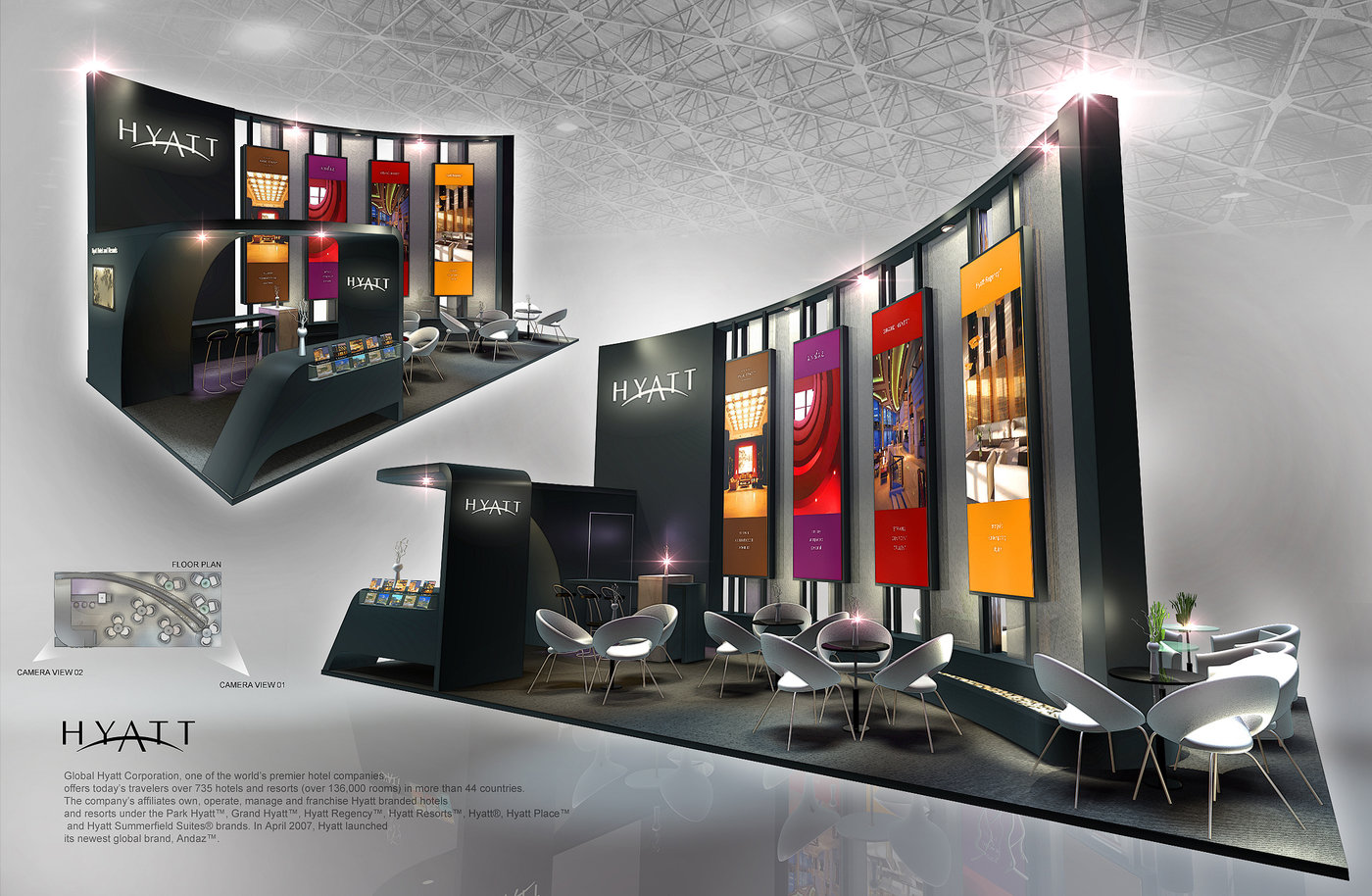 D Exhibition Designer Jobs In Singapore : Standard booth by amornwat osodprasit at coroflot