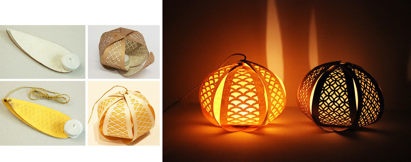 Paper lighting Paper Sculpture Apart From The Traditional Paper Lamps Few More Designs Were Made With Contemporary Aesthetics Taking Inspiration From Aztec Prints Geometric Cutouts Herman Miller Lighting Solutions For Diwali Using Paper By Priya Pakad At Coroflotcom