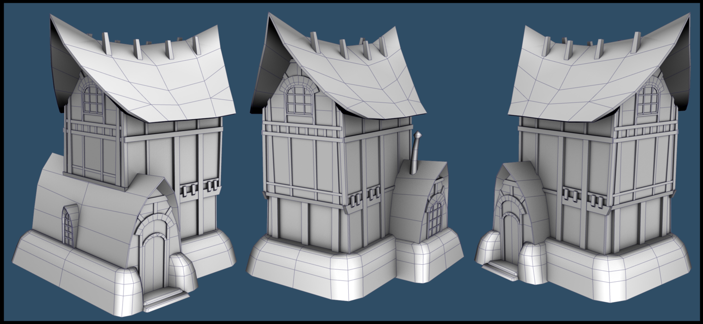 Guild Wars Environment Modeling Test by Victoria Sertich at