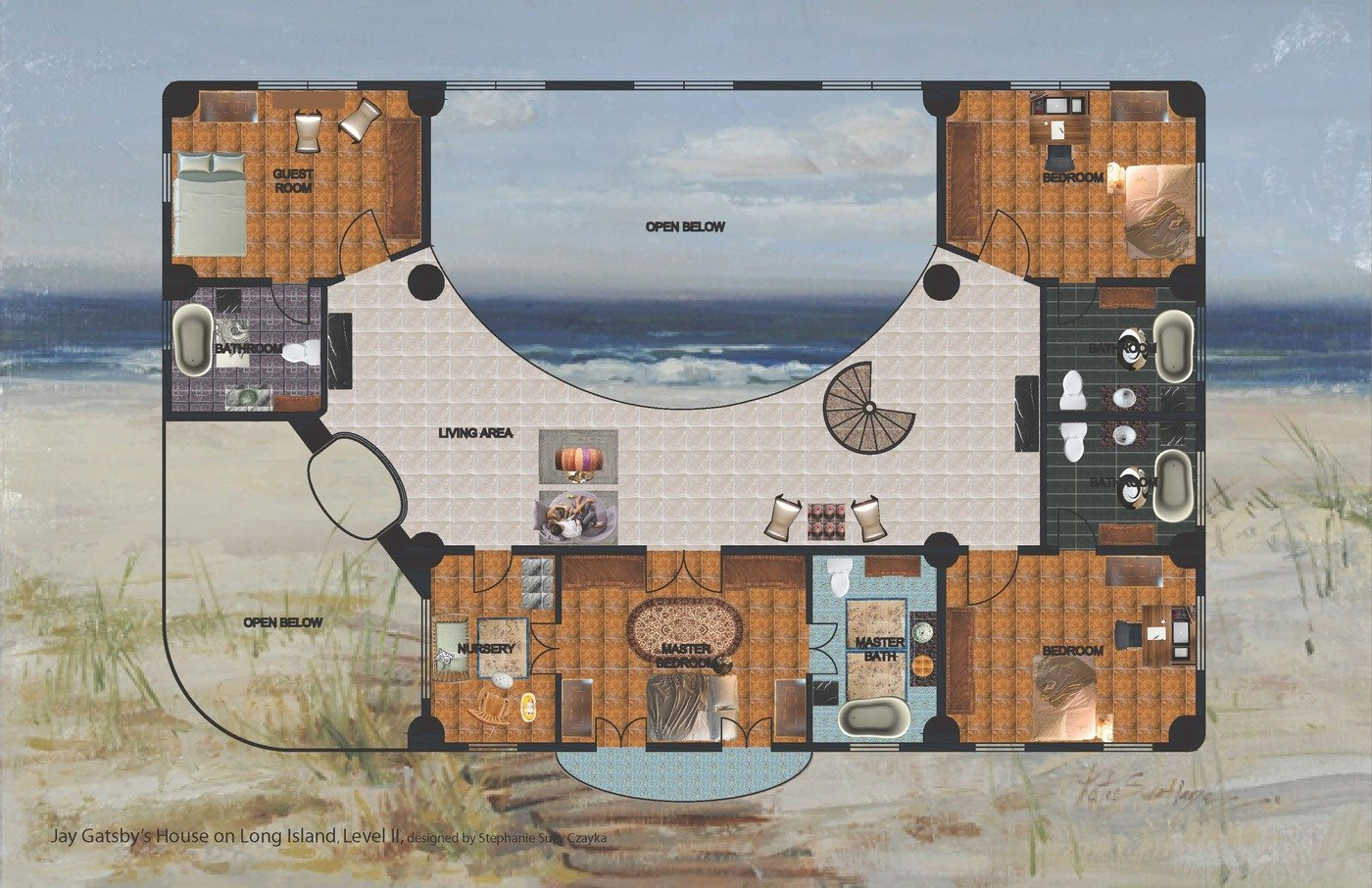 Brilliant Jay Gatsbys House On Long Island By Stephanie Czayka At Download Free Architecture Designs Rallybritishbridgeorg