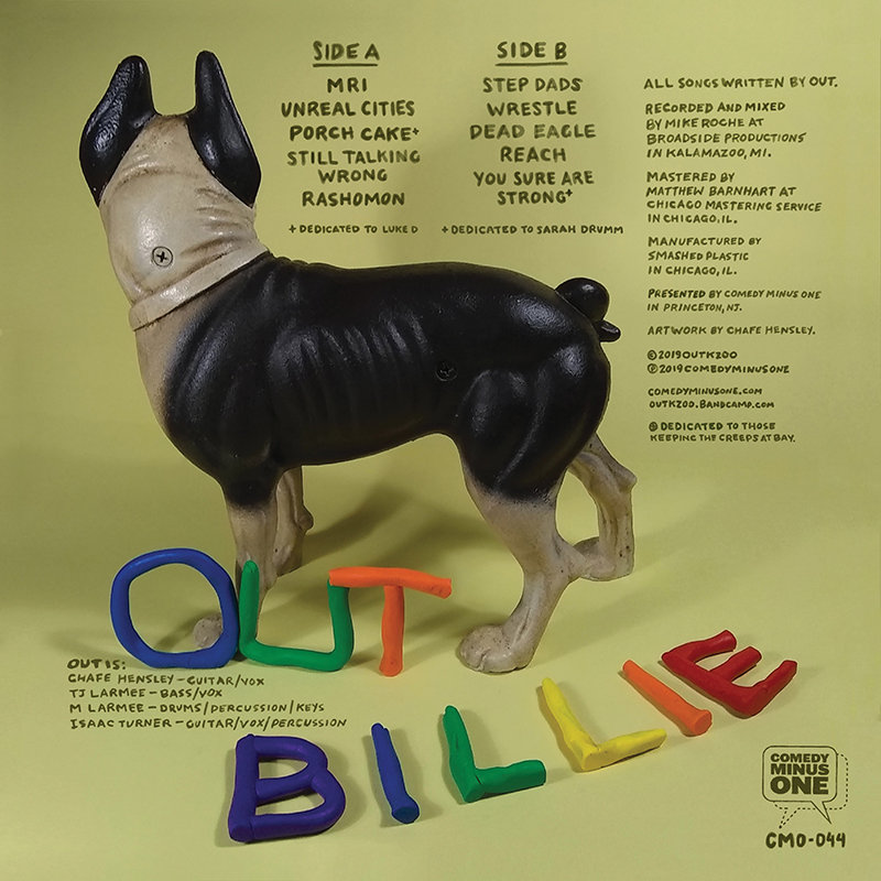 OUT — Billie LP Jacket Design by Chafe Hensley at Coroflot com