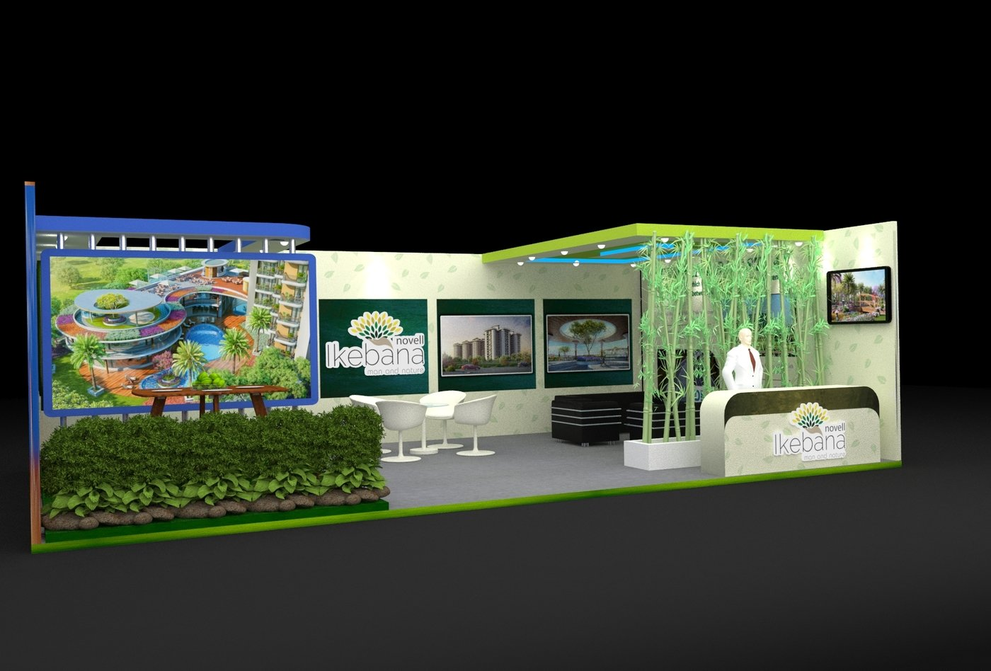 Exhibition Stand Nature : Exhibition stand for property expo by yogender gaud at coroflot