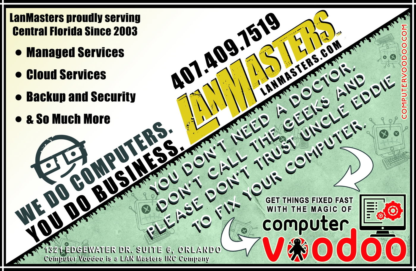 Computer Voodoo & LanMasters by Myke Rivera at Coroflot com