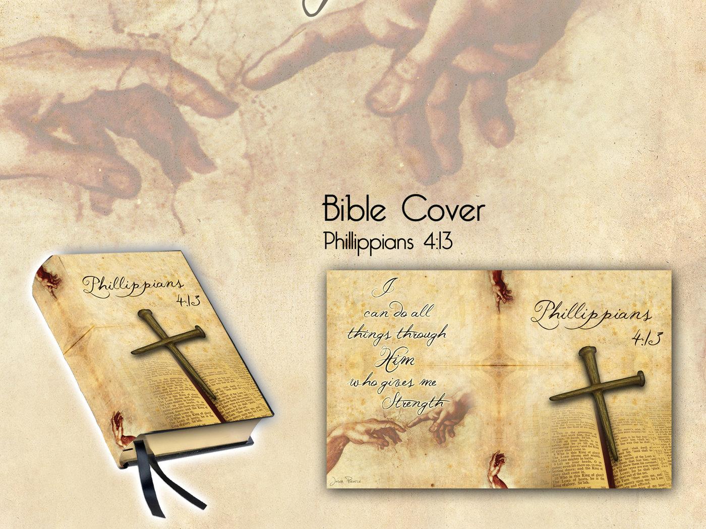 Custom Bible Covers by Jason Piearce at Coroflot com
