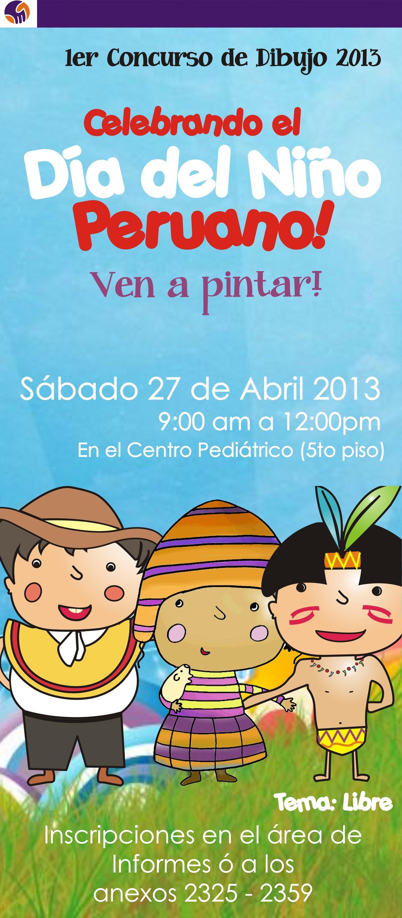 "Concurso De Dibujo ""Niño Peruano"" By Anggela Carrera"