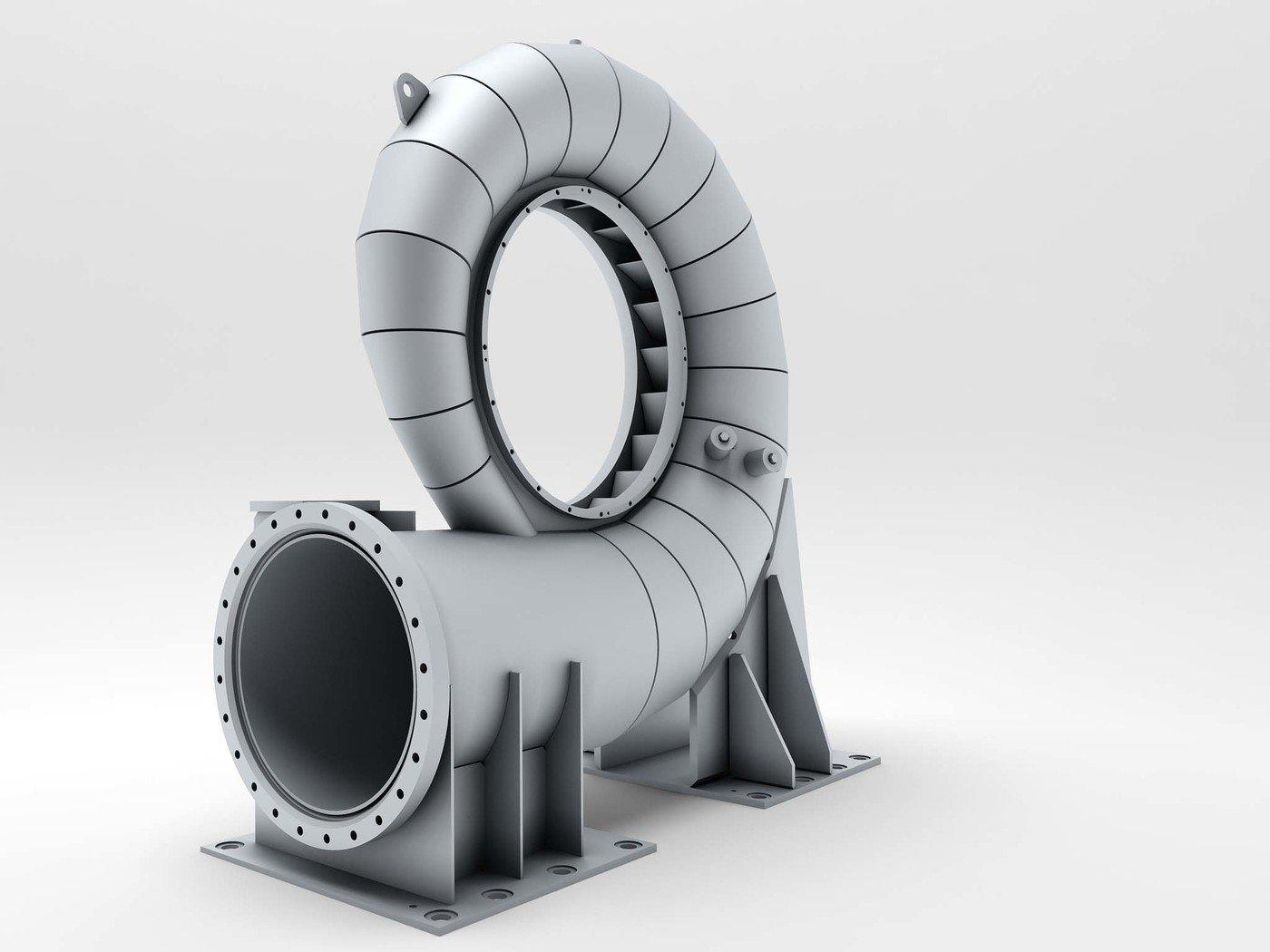 3D Industrial visualization by Basil Trunov at Coroflot com