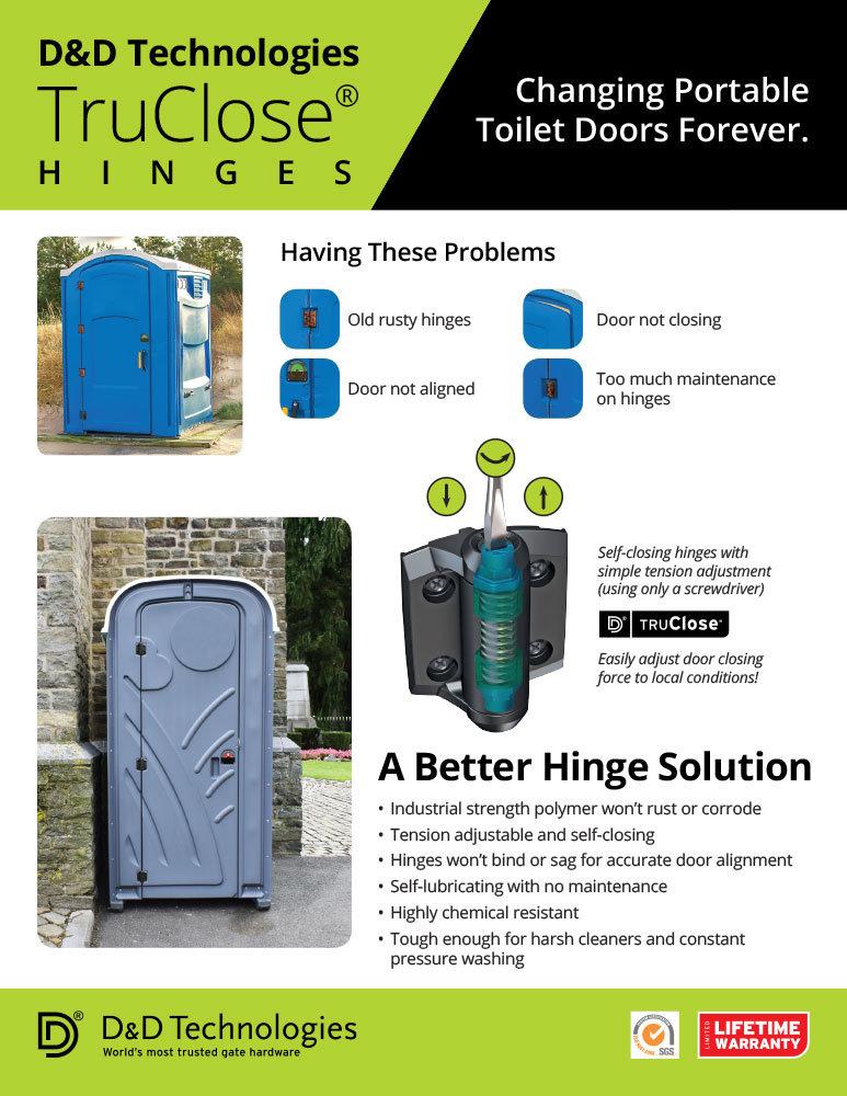 TruClose® Portable Toilet Flyer by Richard Nhan at Coroflot com