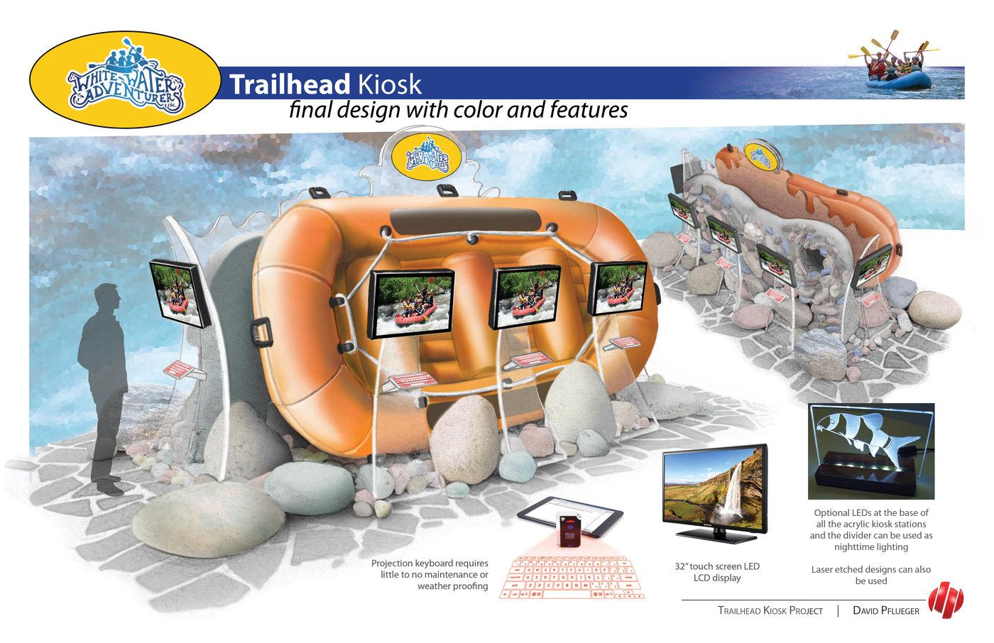 Trailhead Kiosk Design by David Pflueger at Coroflot com