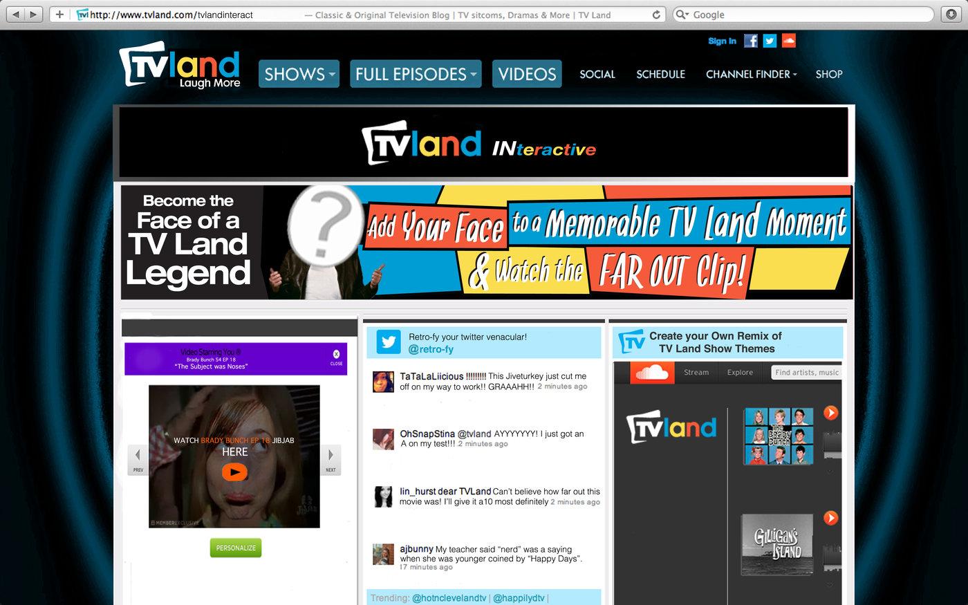 TV Land by Ashton Farleigh at Coroflot com