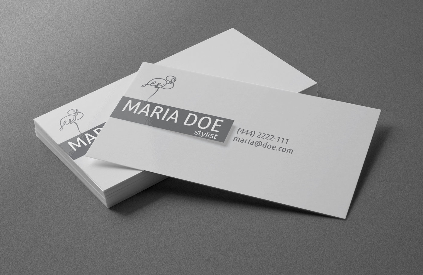 personal stylist business cards free template by borce markoski at coroflotcom - Stylist Business Cards