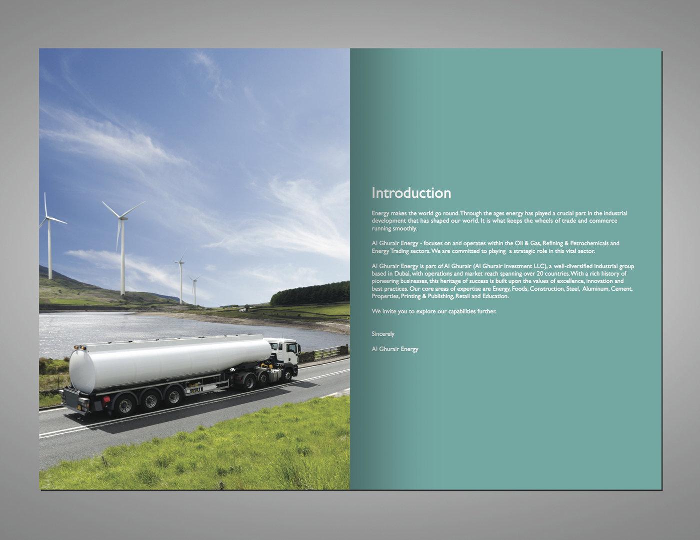 Brochure - Al Ghurair Energy by Manu Presannan at Coroflot com