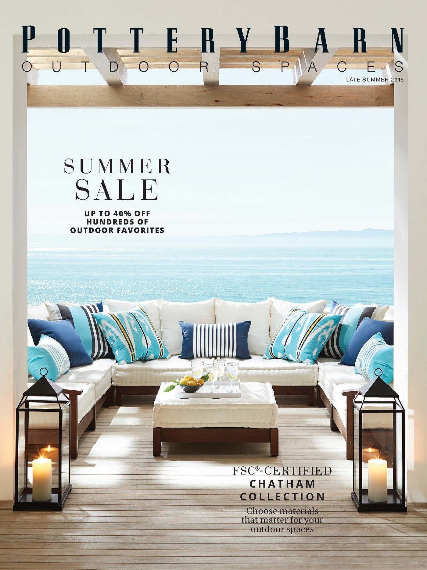 Pottery Barn – Outdoor Spaces by Dirk Schryver at Coroflot.com