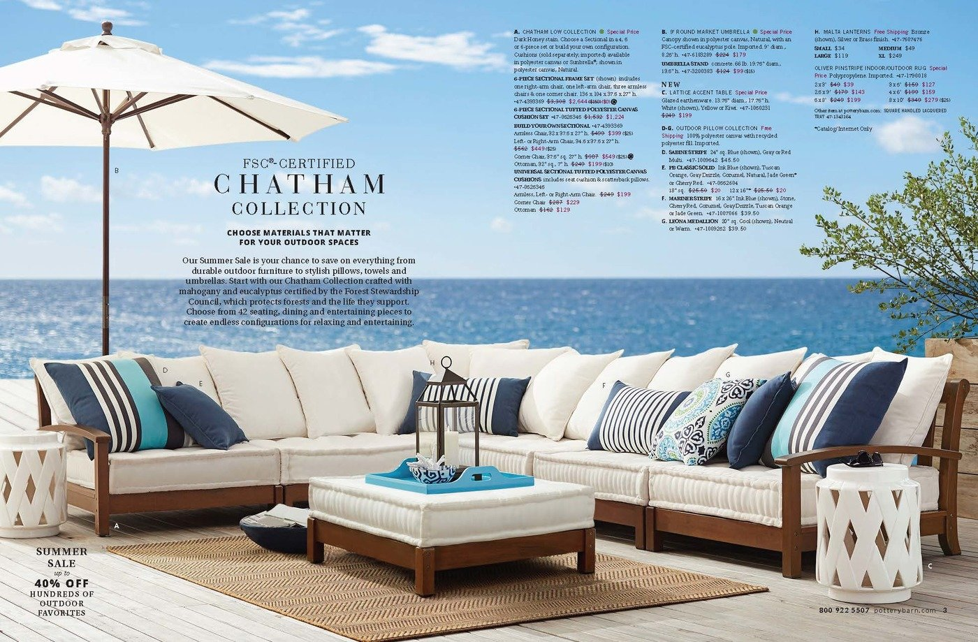 Pottery Barn Outdoor Es By Dirk