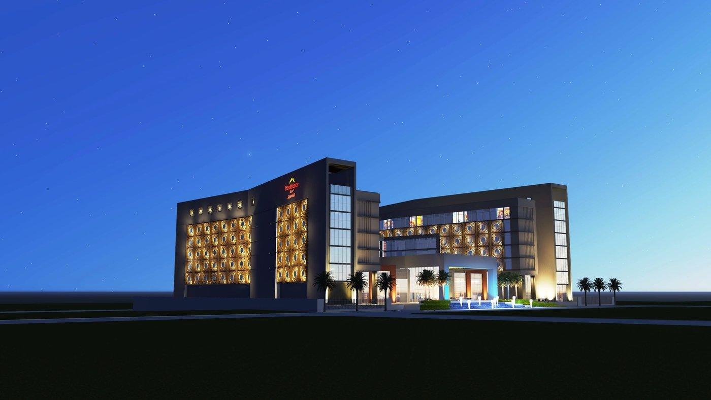 Hotel Facade Amp Drop Off Area Lighting By Matthew Sorianosos At Coroflot Com