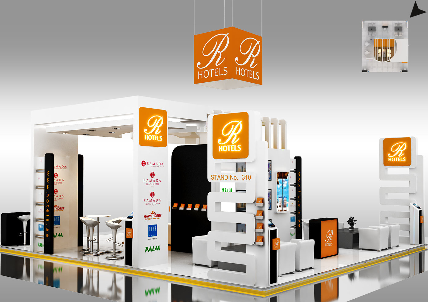 R Hotel stand WITS 2015 Event (adnec) by Rodel Ofiaza at