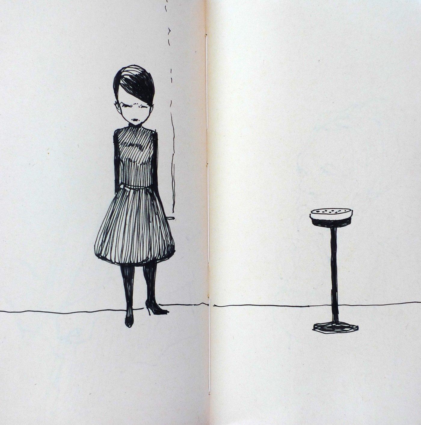 Sketchbook A Kresby By Ivana Satekova At Coroflot Com