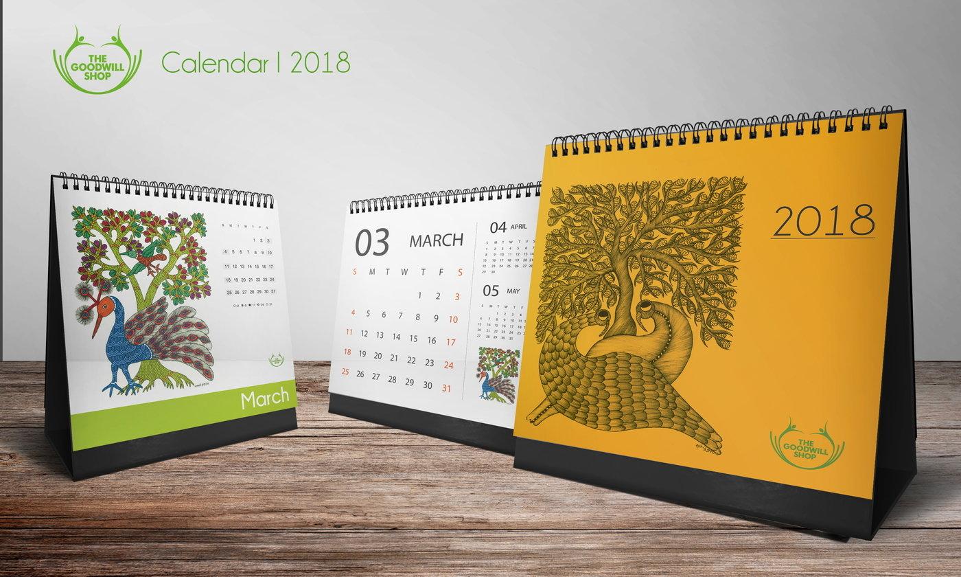 Calendar Designs By Rahul Kumar At Coroflot Com