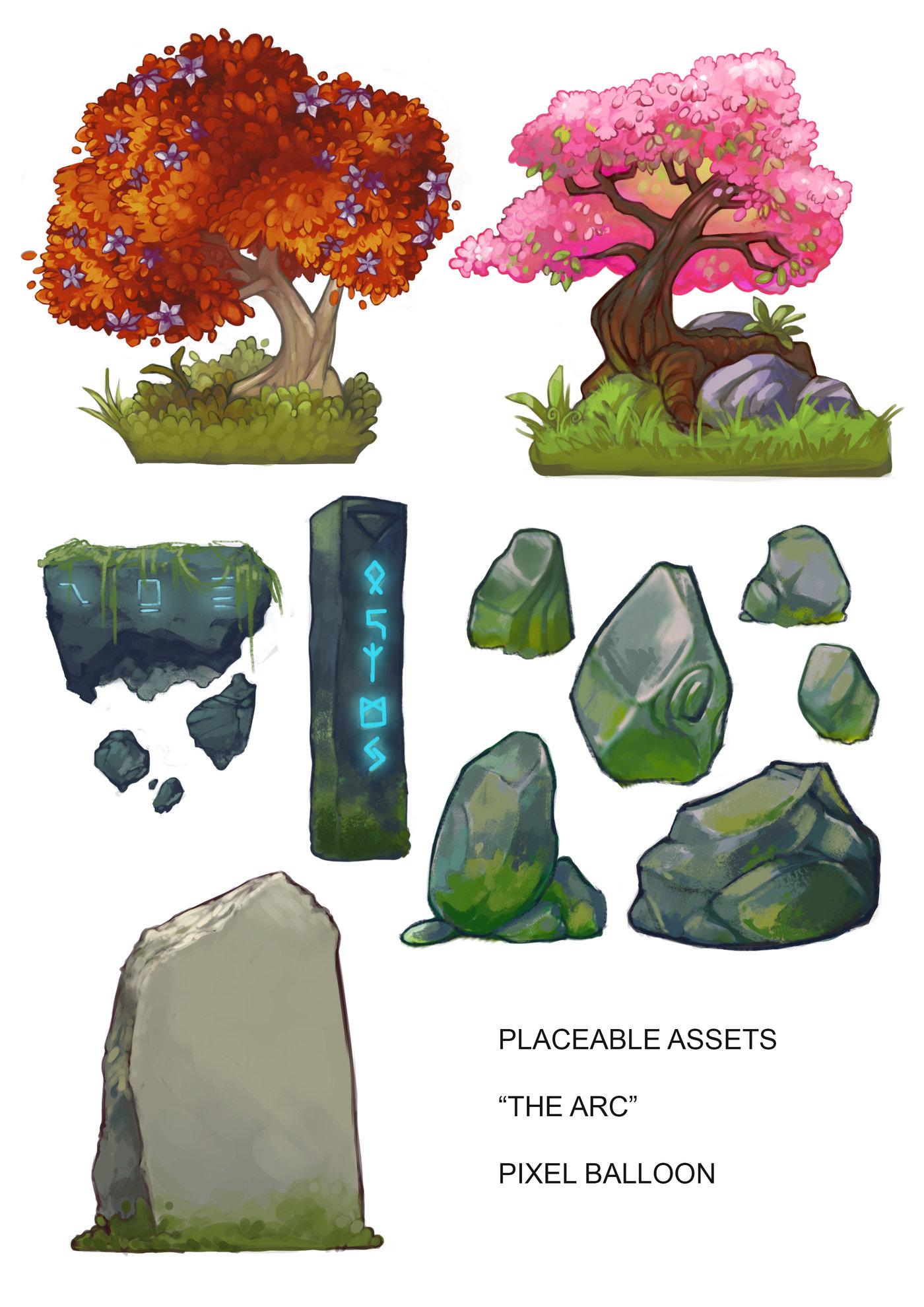 2D Game Assets by Jen Pattison at Coroflot com