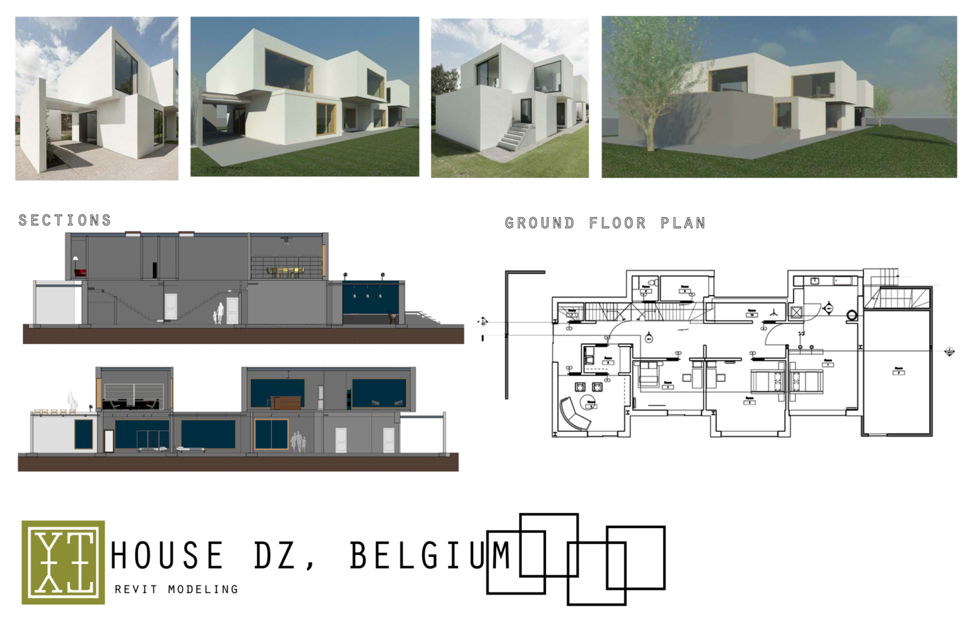 House DZ   Revit Modeling by Yuri Tag at Coroflot com
