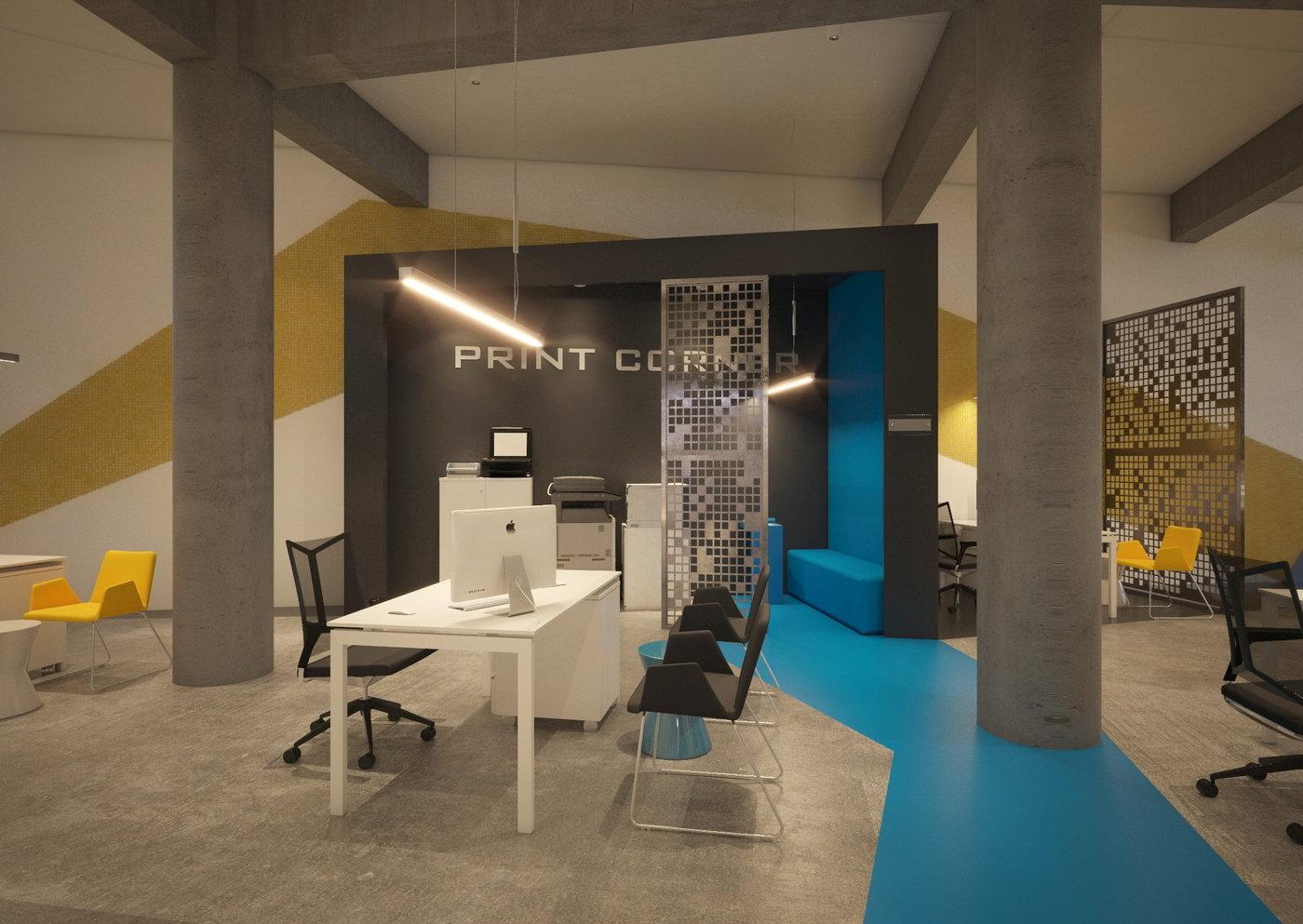 Superior Office Design   Modern Loft Office Design