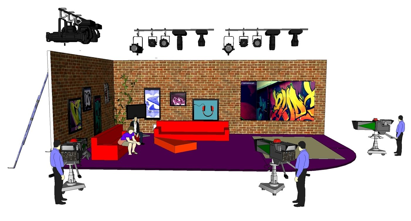 Subculture Show Set Design By Andrew Baillie At Coroflot Com
