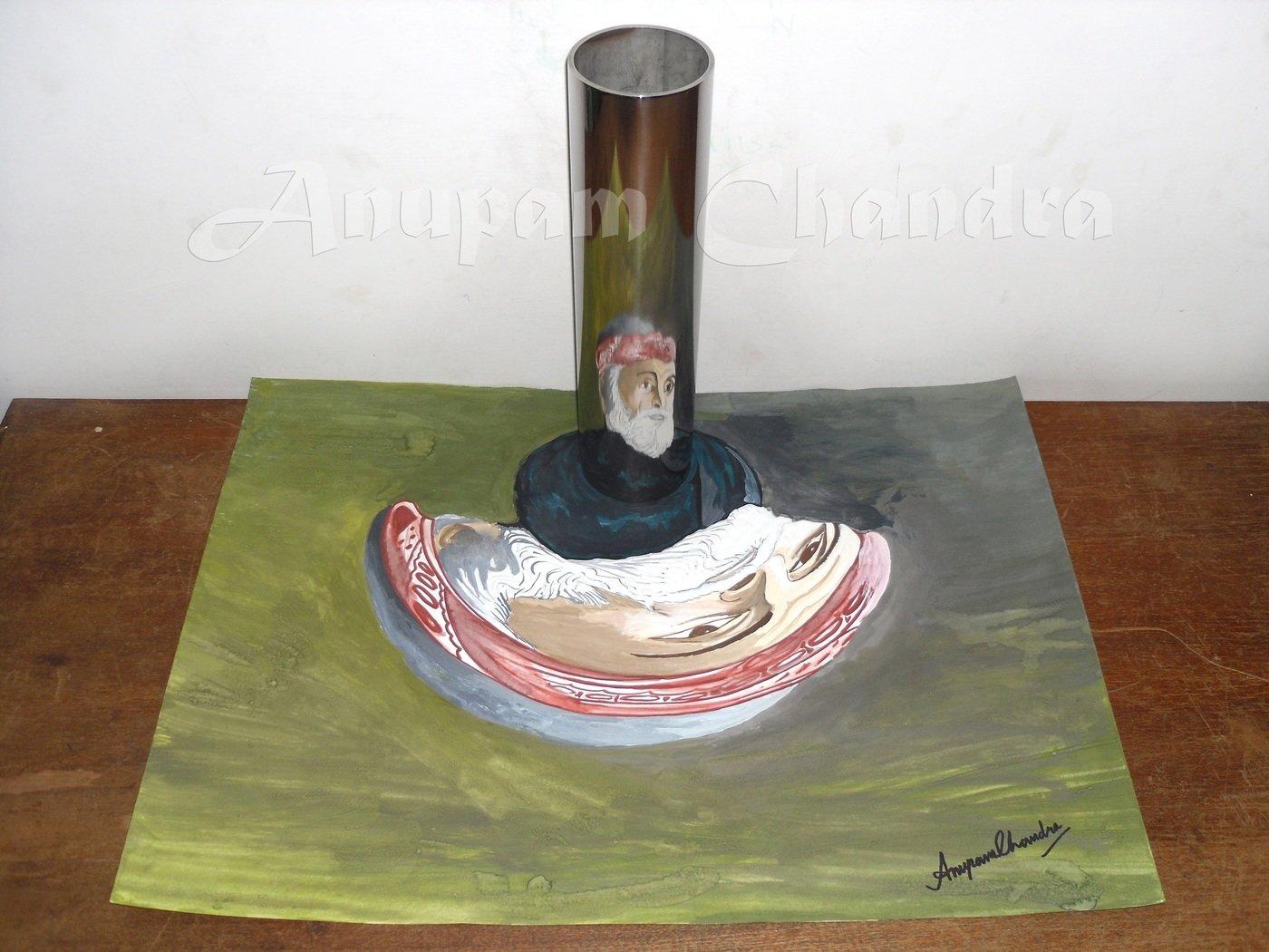 Anamorphic Art by Anupam Chandra at Coroflot com