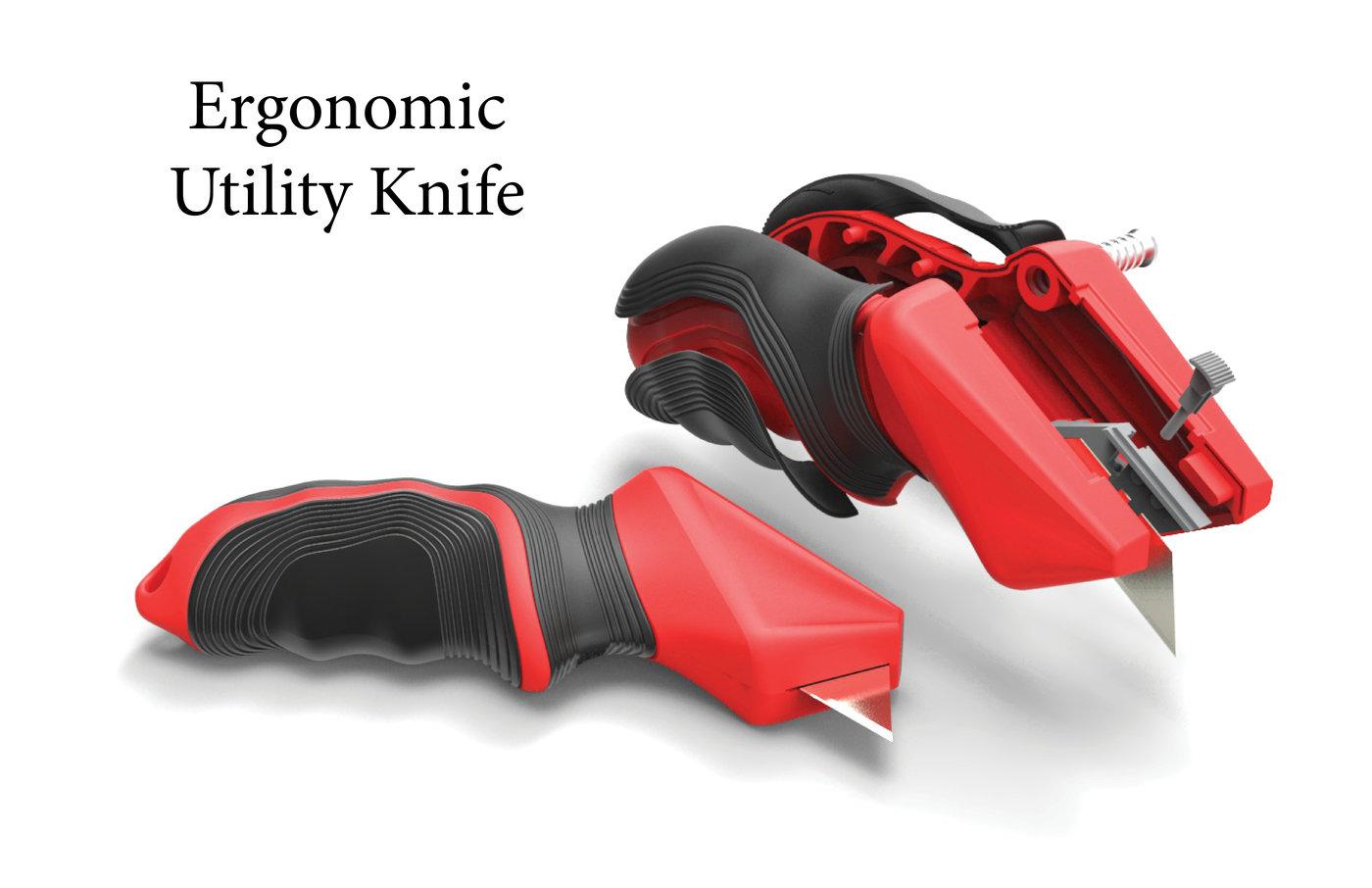 Ergonomic Utility Knife By Evan Lembke At Coroflot Com