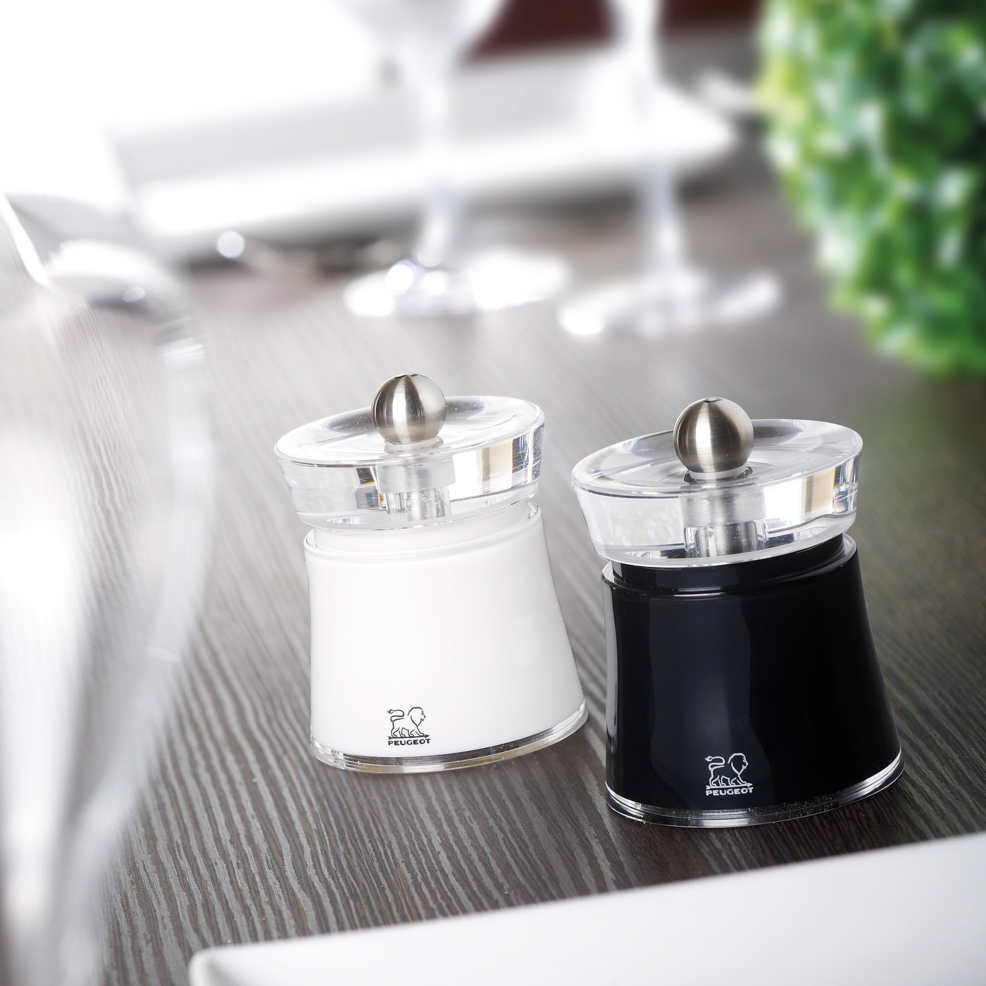 Bali Salt Pepper Mills For Peugeot By