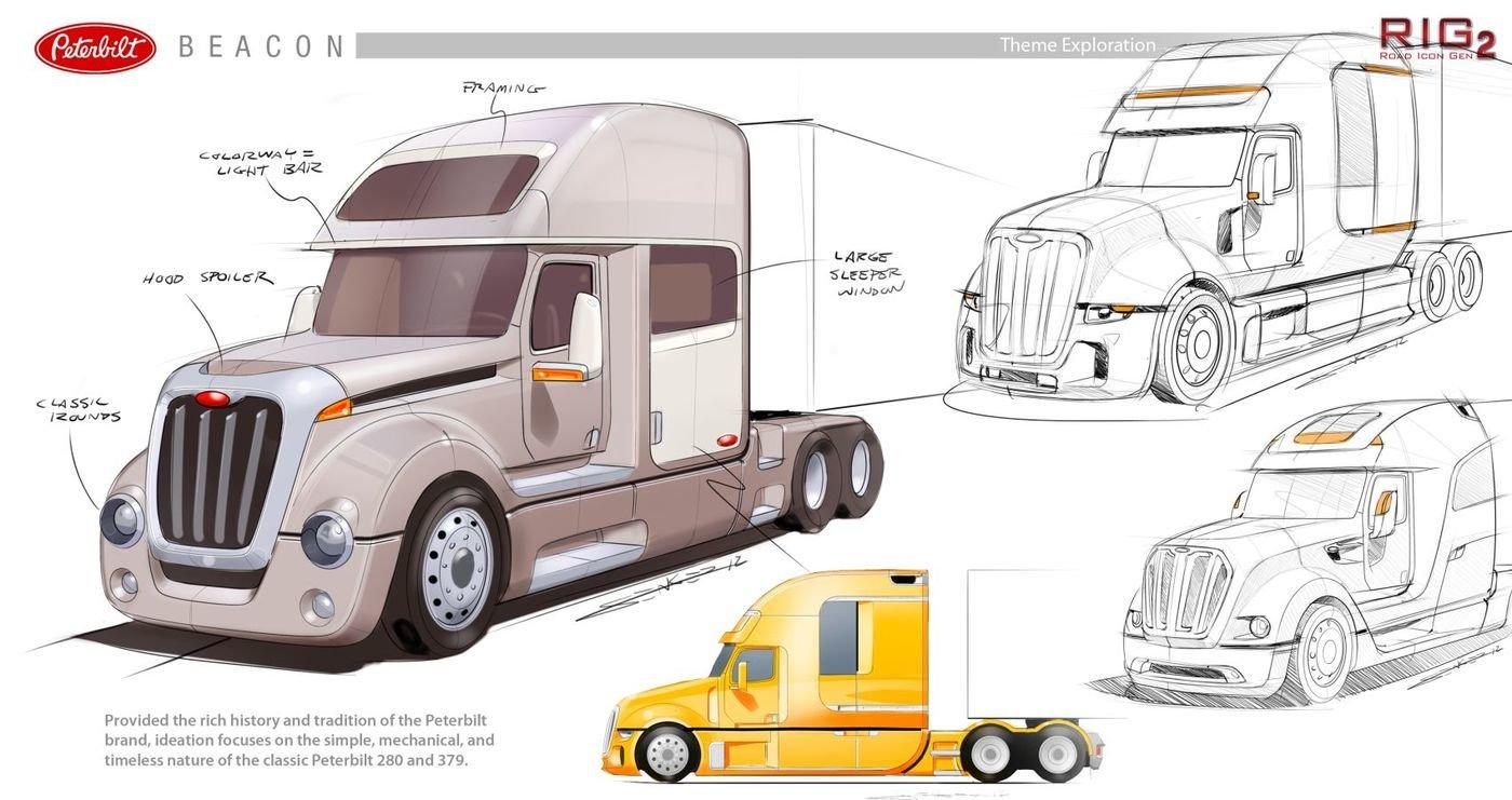 Peterbilt Beacon Class 8 Concept for Local Motors (June 2012
