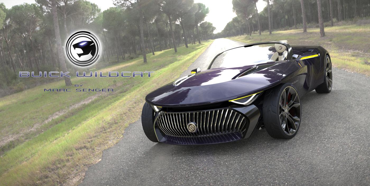 Buick Wildcat Concept By Marc Senger At Coroflot Com