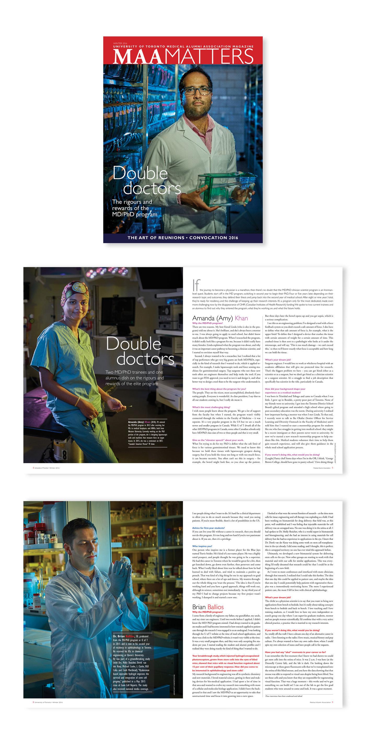 Editorial Art Direction by Luisa De Vito at Coroflot com