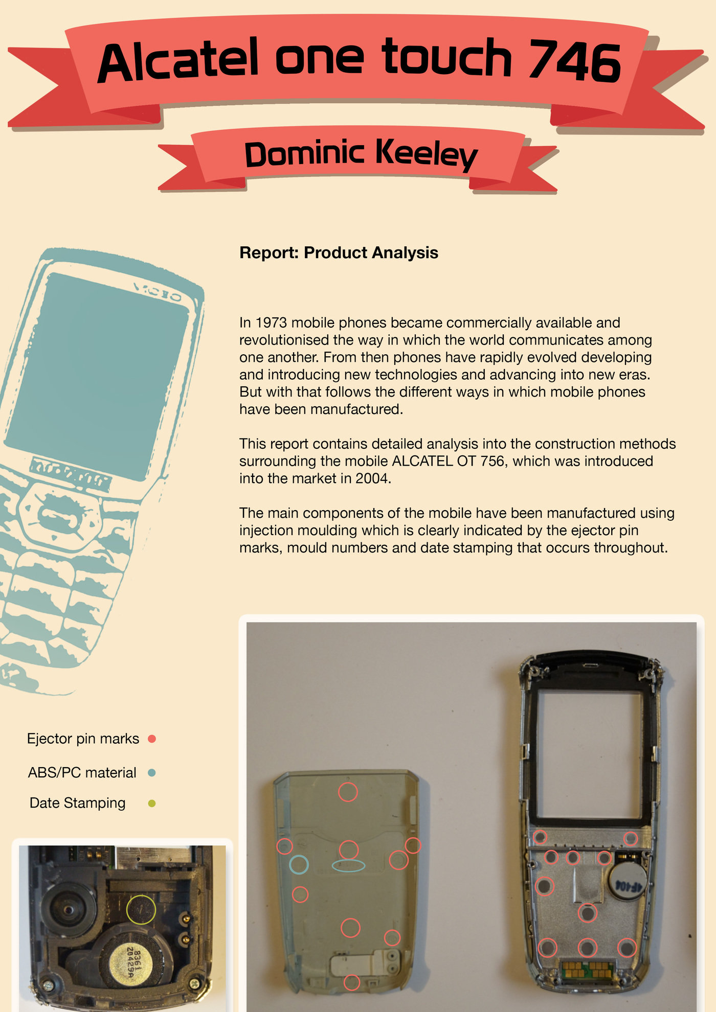 Mobile Phone by Dominic Keeley at Coroflot com