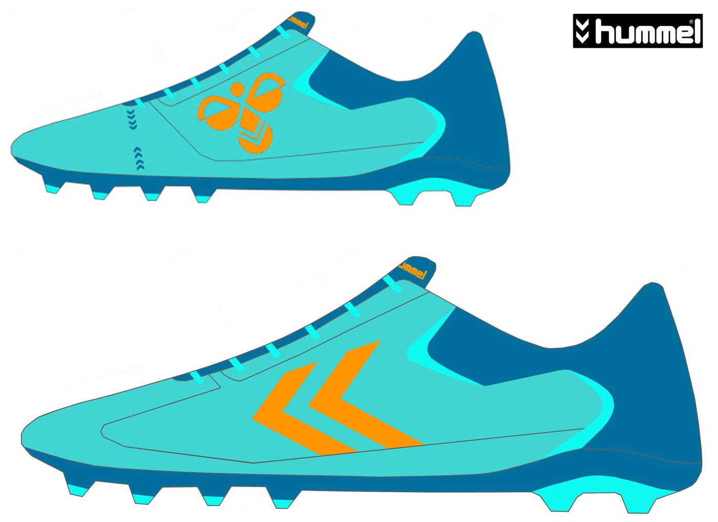 new arrival 6cc84 effb8 hummel soccer shoes