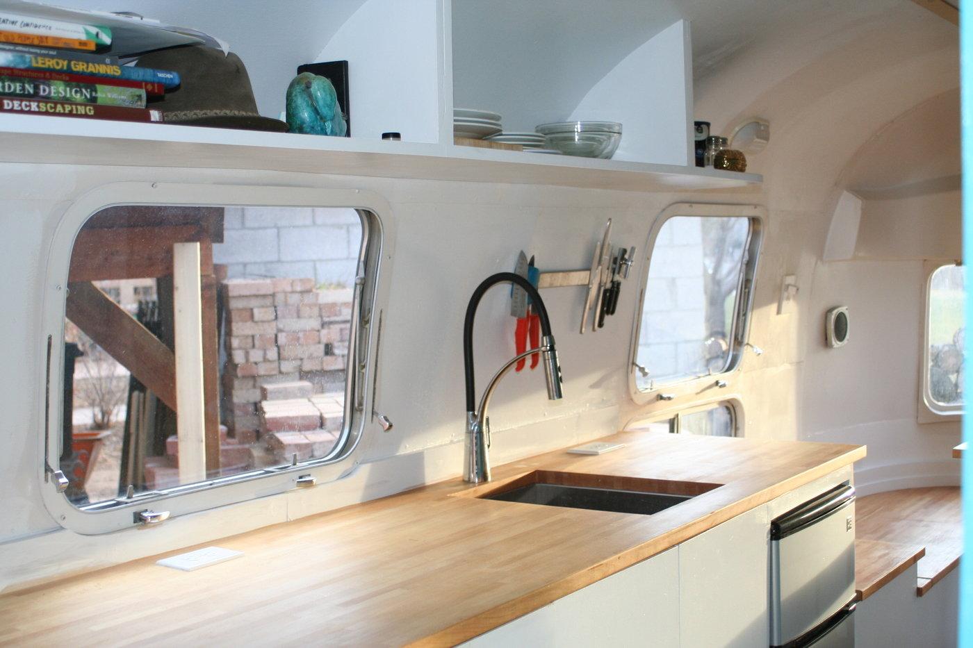 Airstream rebuild by Ben Stalker at Coroflot com