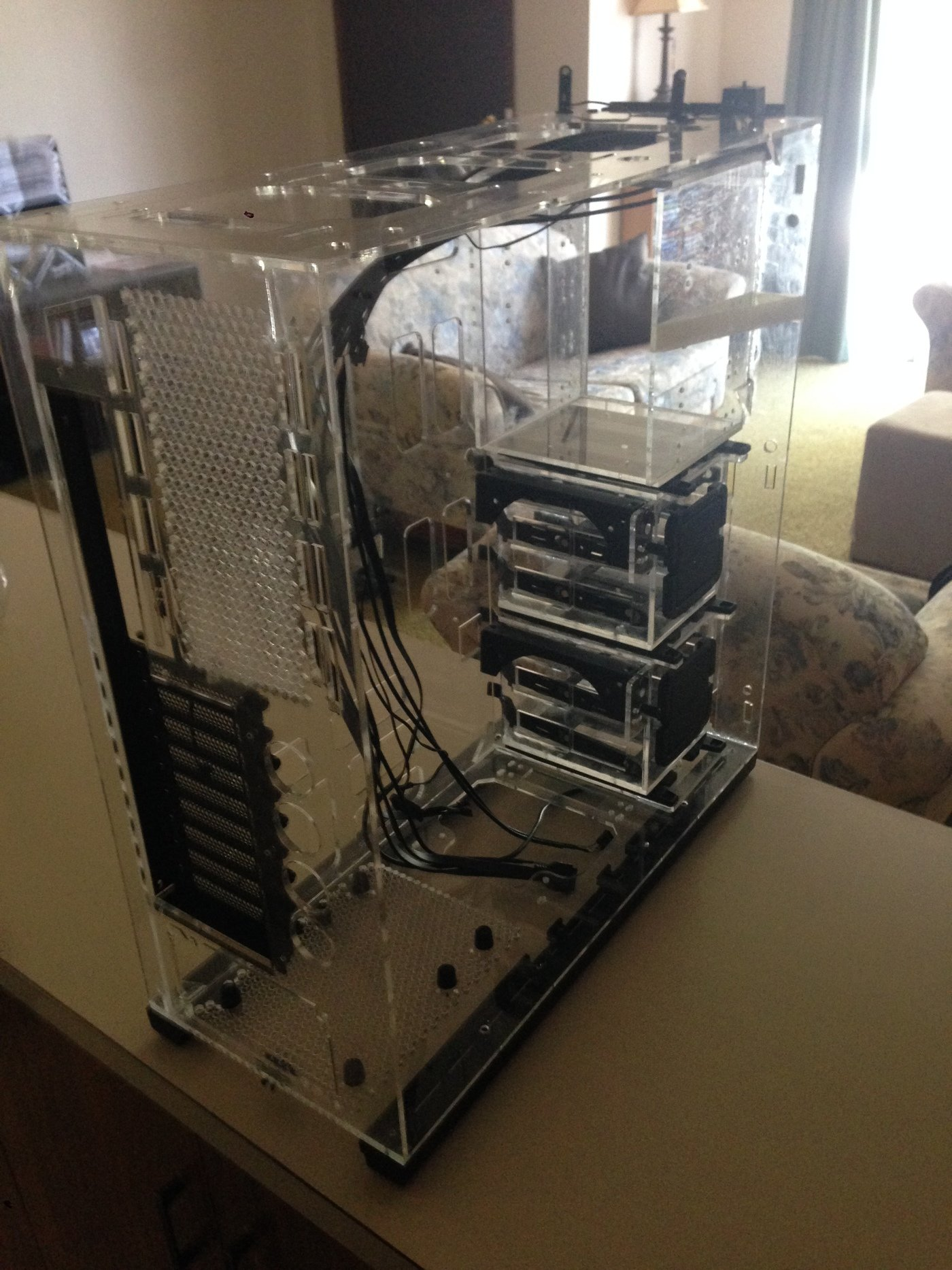 Acrylic PC case 2 by Keanu John Bullock at Coroflot com
