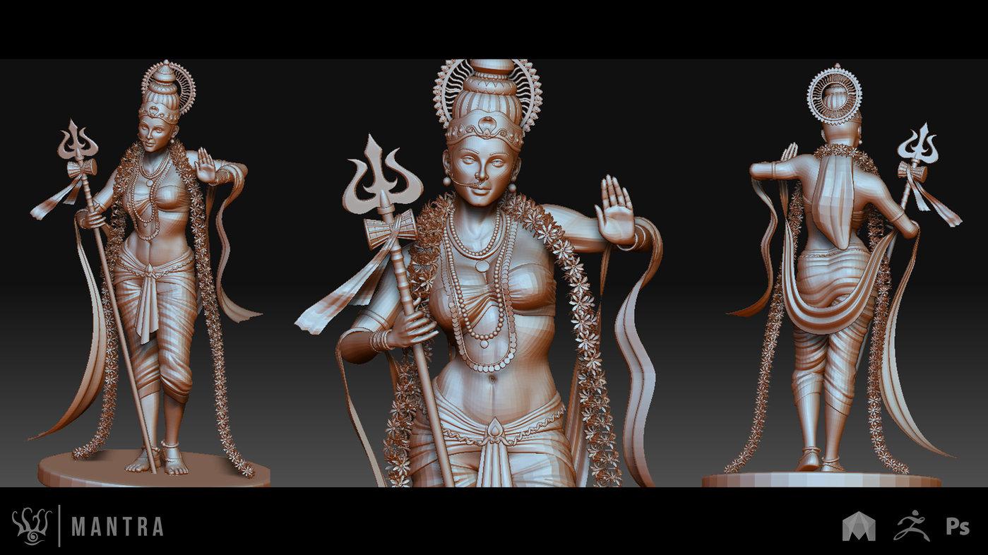 Zbrush Digital Sculpting By Srinath T At Coroflot