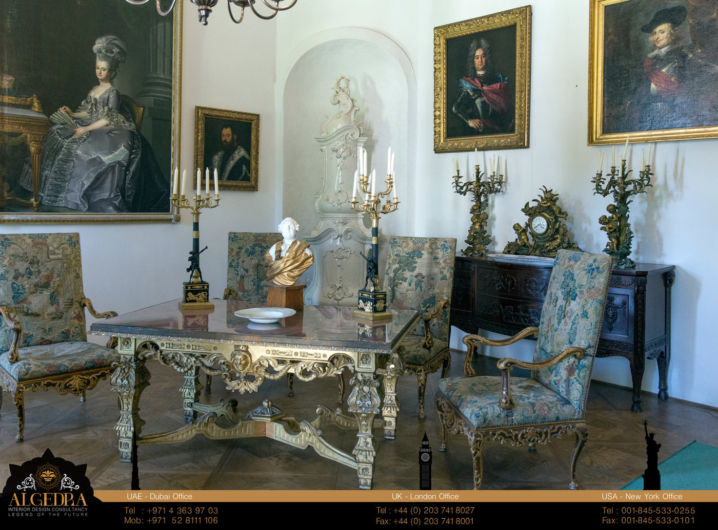 Stupendous Rococo Style By Algedra Interior Design By Algedra Interior Best Image Libraries Weasiibadanjobscom