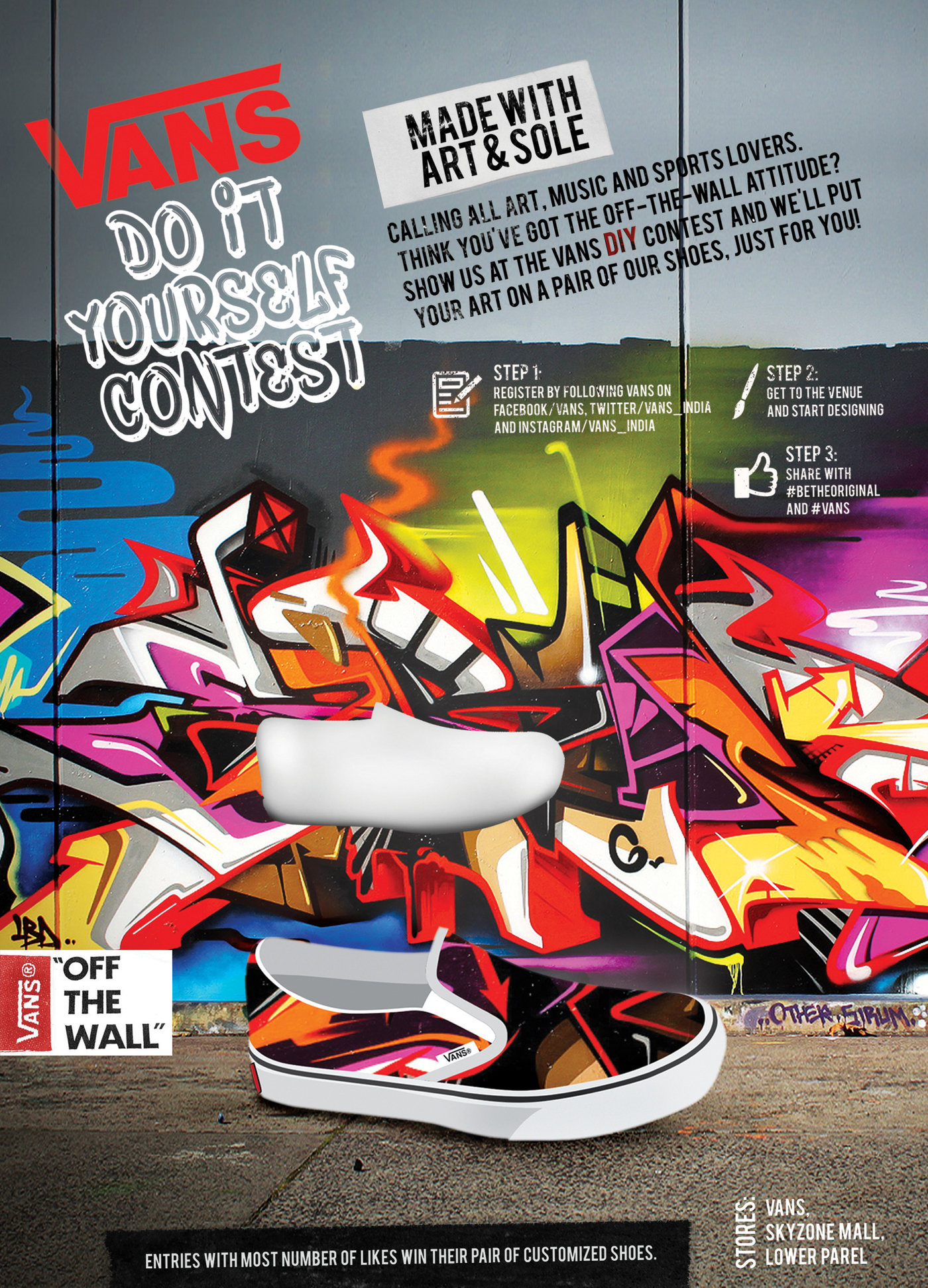 poster vans off the wall