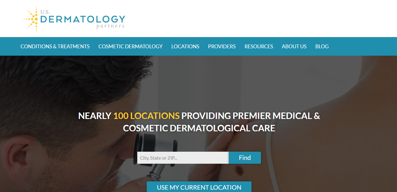 US Dermatology Partners by Matt Bowman at Coroflot com