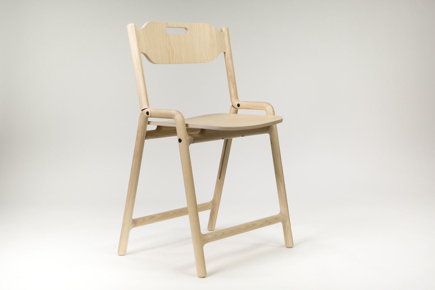 Cool Folding Chair Native Craft Collective By Joe Parker At Machost Co Dining Chair Design Ideas Machostcouk
