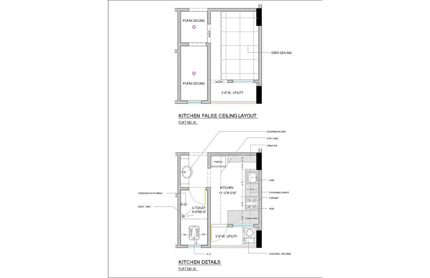 INTERIOR WORKING PLANS IN CAD 12 by Hitesh Bhoi at Coroflot com