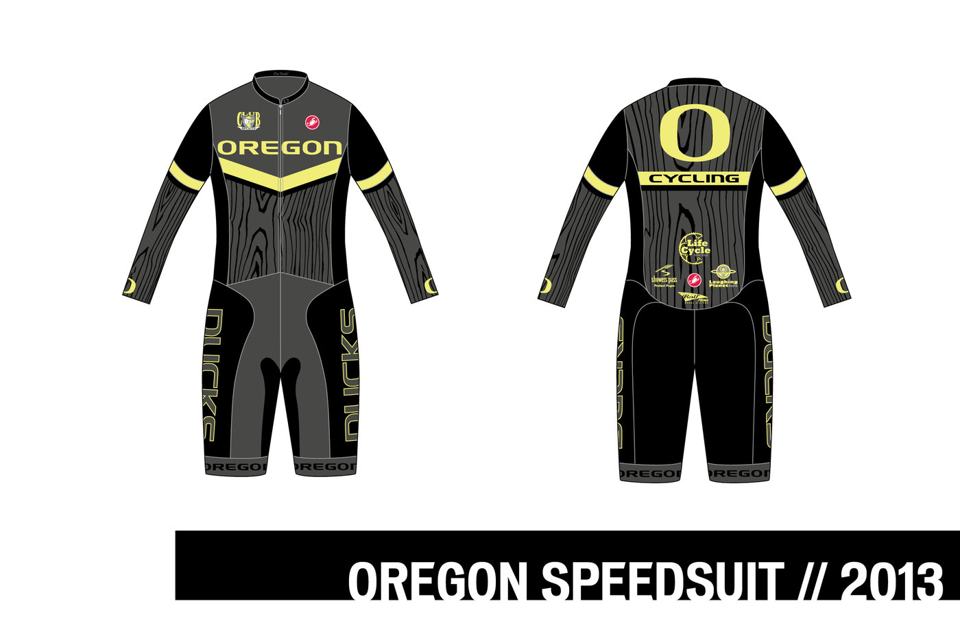 on sale ae9db 8e7a0 Oregon Cycling Kit and Speedsuit by Scott Warneke at ...