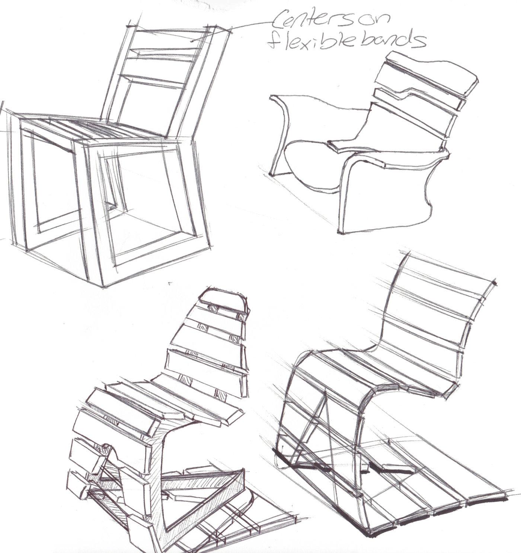Modern Adirondack Chair by Ryan Peck at Coroflot.com