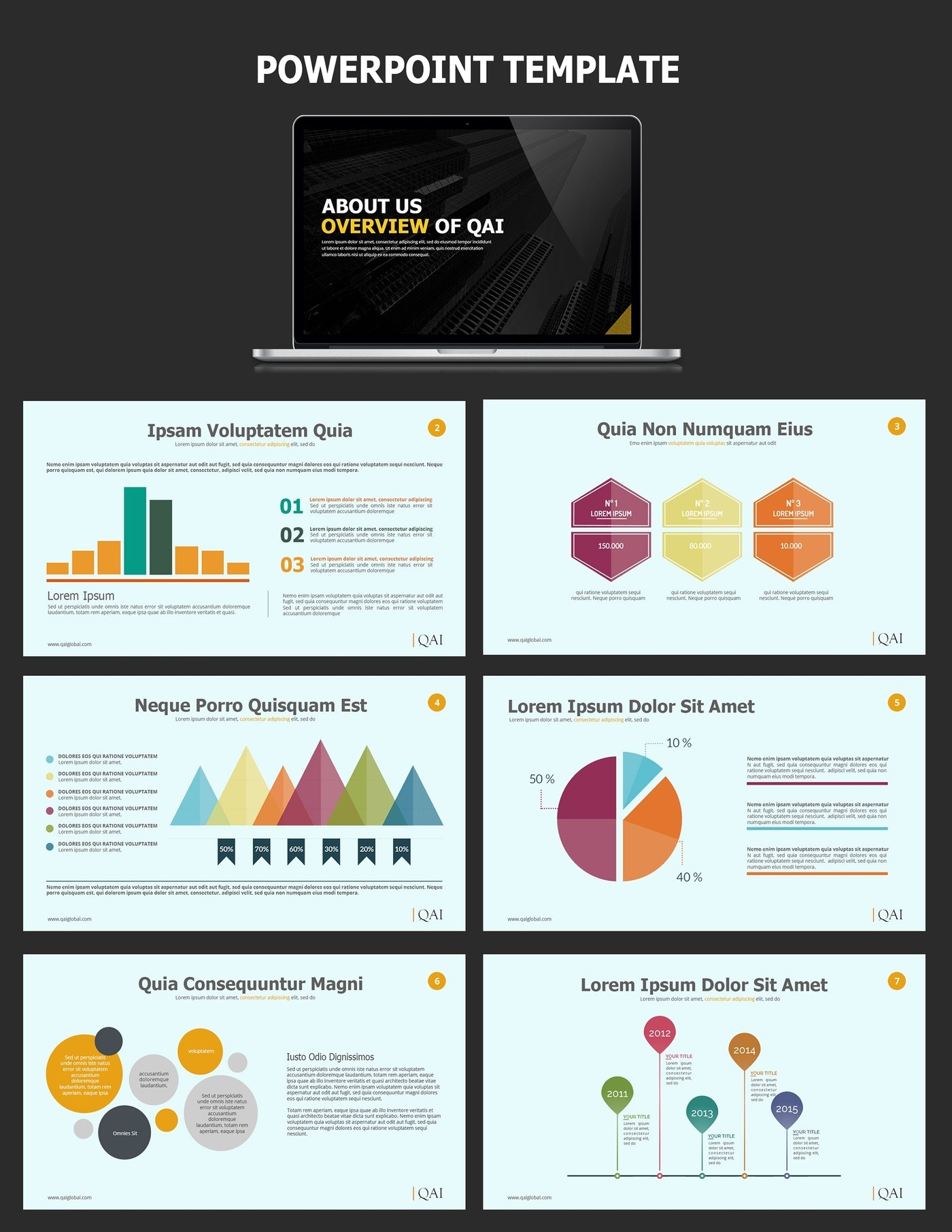 Infographic Style Powerpoint Deck For Qai By Cj Designs At Coroflot Com