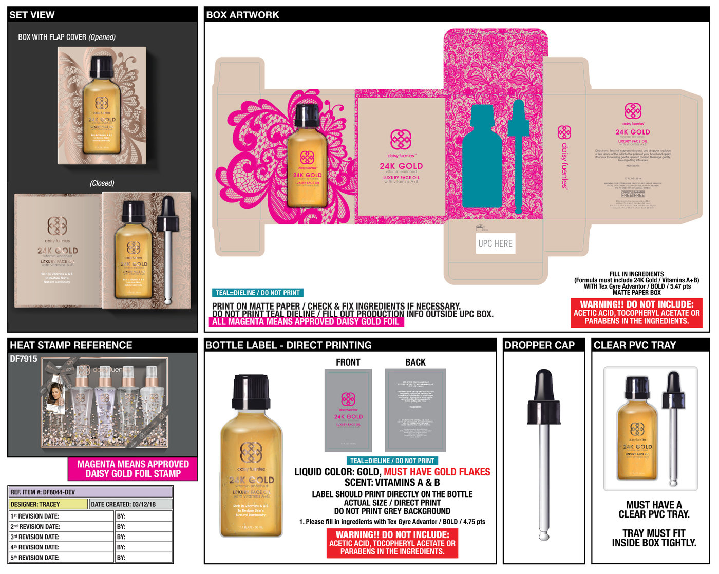 Daisy Fuentes Body Care Products By Tracey Taylor At The Wet Brush Prints