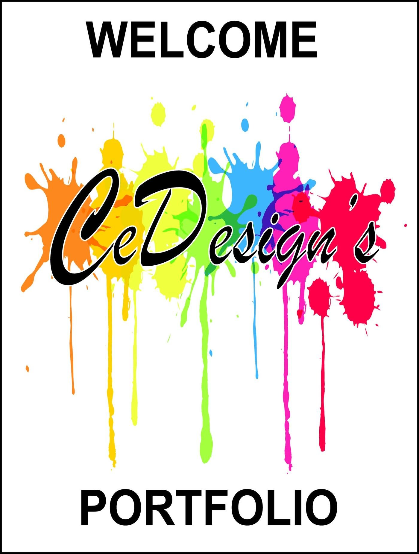 Art Cover Page Portfolio Design
