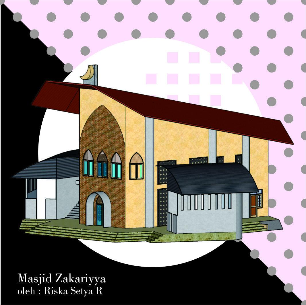Masjid Zakariyya Design By Riska Setya At Coroflot Com